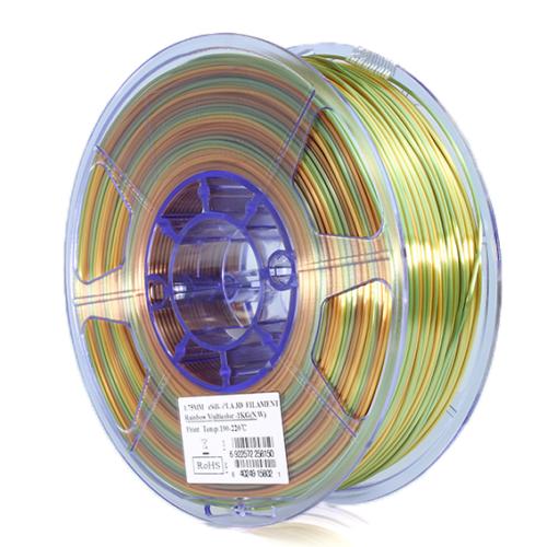 Esun esilk PLA filament 1,75mm RAINBOW 1kg