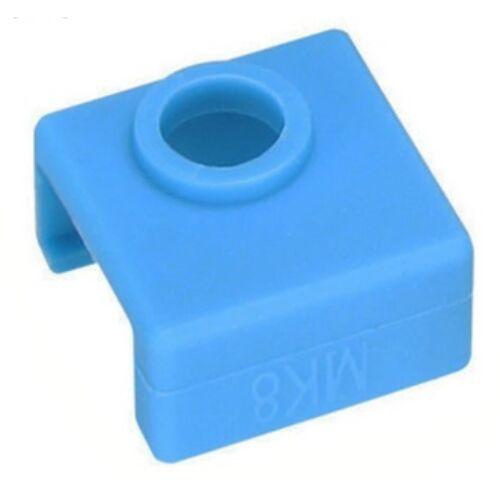 Plusreprap MK8 szilikon hővédő kék