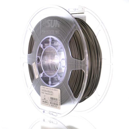 Esun PLA STEEEL filament 1,75mm rozsdamentes vastartalmú 1kg